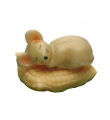 Spící myš – baleno v sáčku - marcipánová figurka - marcipán