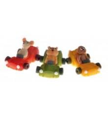 Auto COSMIC (3 druhy) - baleno v sáčku - marcipánová figurka - pravý marcipán z mandlí