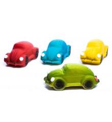 """Auto """"Brouk"""", 4 druhy – baleno ve smršťovací folii - marcipánová figurka - pravý marcipán z mandlí"""