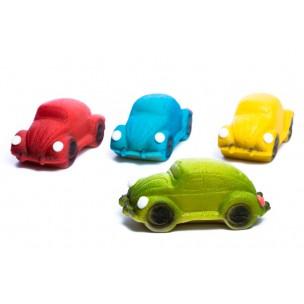 """Auto """"Brouk"""", 4 druhy – baleno ve smršťovací folii - marcipánová figurka - marcipán"""