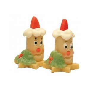 Svíčky (2 druhy) – baleno v sáčku - marcipánová figurka - marcipán