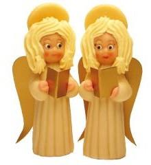 Anděl – baleno v sáčku - marcipánová figurka - marcipán