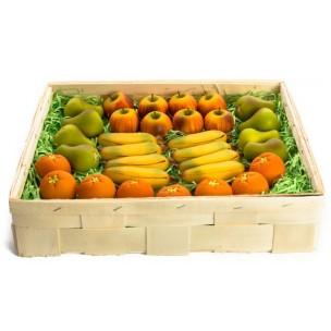 Ovoce (4 druhy, smršť.folie)  - marcipánové ovoce - marcipán
