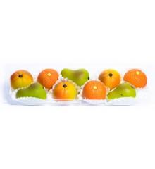Malé plody  – baleno v průhl. krabičce - pravý marcipán z mandlí