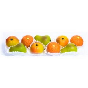 Malé plody  – baleno v průhl. krabičce - marcipán