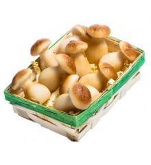 Košíček hub - marcipánová figurka - pravý marcipán z mandlí
