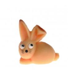 Zajíček se zlomeným ouškem – baleno v sáčku - marcipánová figurka - pravý marcipán z mandlí