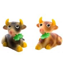 Kráva – baleno v sáčku - marcipánová figurka - pravý marcipán z mandlí