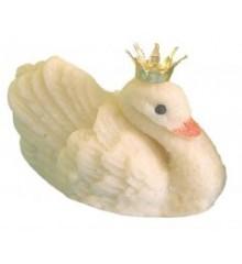 Labuť – baleno v sáčku - marcipánová figurka - marcipán