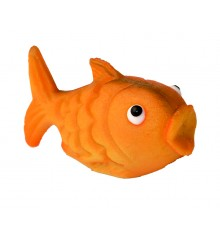 Zlatá rybka – baleno v sáčku - marcipánová figurka - pravý marcipán z mandlí