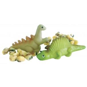 Dinosaurus, 2 druhy – baleno v sáčku - marcipánová figurka - marcipán