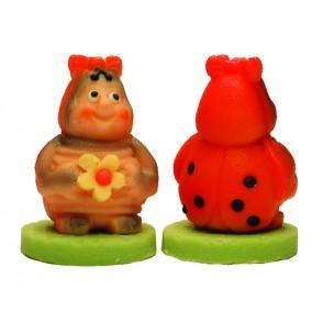 Beruška s mašlí – baleno v sáčku - marcipánová figurka - marcipán