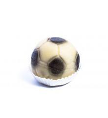 Fotbalový míč – baleno ve smršťovací folii - marcipánová figurka - pravý marcipán z mandlí