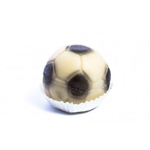 Fotbalový míč – baleno ve smršťovací folii - marcipánová figurka - marcipán