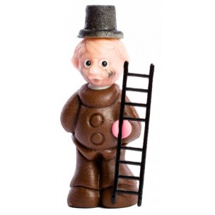 Kominík Charlie – baleno v sáčku - marcipánová figurka - marcipán