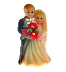 Svatební pár – baleno v sáčku - marcipánová figurka