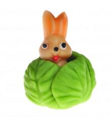 Zajíc v zelí – baleno v sáčku - marcipánová figurka - pravý marcipán z mandlí