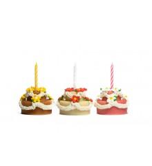 Dort se svíčkou - baleno v sáčku - marcipánová figurka