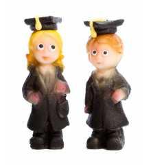 Studenti - marcipánová figurka - baleno v sáčku - pravý marcipán z mandlí