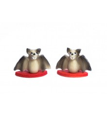 Netopýr malý - baleno v sáčku - marcipánové figurky - pravý marcipán z mandlí