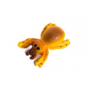 Pavouk, 2 barvy - baleno v sáčku - marcipánové figurky - marcipán