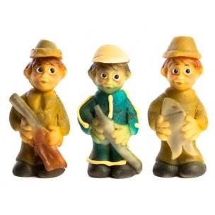 Hasič, Rybář, Myslivec - marcipánová figurka - baleno v sáčku - marcipán