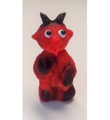 Čertík malý červený - marcipánová figurka - baleno v sáčku - marcipán