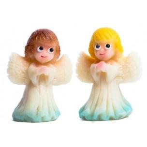 Andílek malý, 2 barvy - marcipánová figurka - baleno v sáčku - marcipán