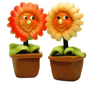 Gerbery - prodej květin z marcipánu