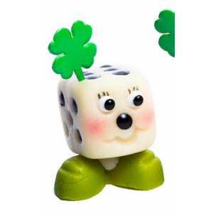 Kostka zelená - baleno v sáčku - marcipánové figurky - marcipán