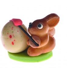 """Zajíček """"Malíř"""" – baleno v sáčku - pravý marcipán z mandlí"""