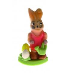 Zajíc s konví – baleno v sáčku - marcipánová figurka - pravý marcipán z mandlí
