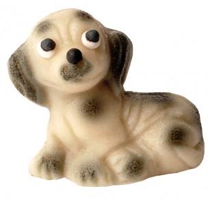 Dalmatin – baleno v sáčku - marcipánová figurka - marcipán