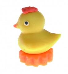 Kuřátko Kiki – baleno v sáčku - marcipánová figurka - pravý marcipán z mandlí