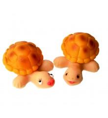Želvy Berta a Bert – baleno ve smršť.folii - marcipánová figurka - pravý marcipán z mandlí