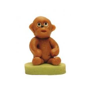 Opice – baleno v sáčku - marcipánová figurka - marcipán