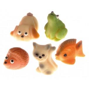 Malá zvířátka ( 5 druhů ) - baleno v sáčku  - marcipán