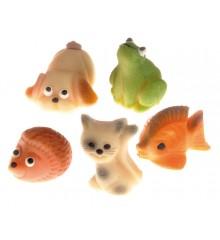 Malá zvířátka – ježeček – baleno v sáčku - marcipánová figurka - pravý marcipán z mandlí