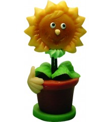 Slunečnice Sonny – baleno v sáčku - marcipánová figurka - pravý marcipán z mandlí