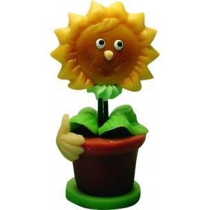 Slunečnice Sonny – baleno v sáčku - marcipánová figurka - marcipán
