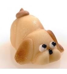 Malá zvířátka – pejsek – baleno v sáčku - marcipánová figurka - pravý marcipán z mandlí