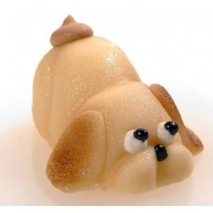 Malá zvířátka – pejsek – baleno v sáčku - marcipánová figurka - marcipán