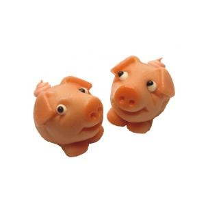 Prasátko Piggy  - baleno v sáčku - marcipánová figurka - marcipán