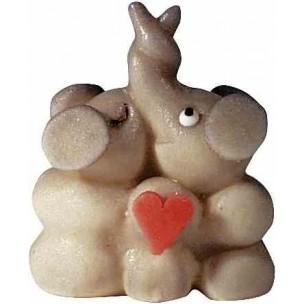 Sloní pár – baleno v sáčku - marcipánová figurka - marcipán
